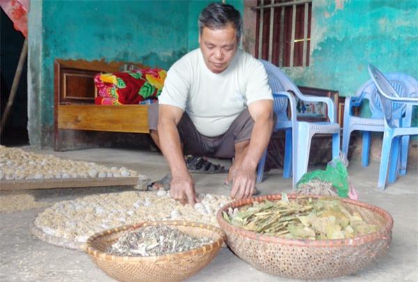 Đặc sản rượu men lá của người Nùng ở Bắc Giang